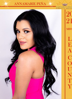 Annamarie pena miss lea county poster
